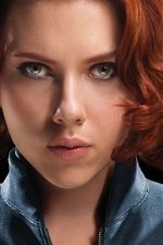 Preview iPhone wallpaper The Avengers, Scarlett Johansson: black widow
