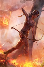 Preview iPhone wallpaper Tomb Raider 2012