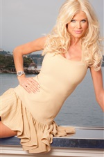 Preview iPhone wallpaper Victoria Silvstedt 01