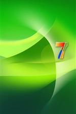 Windows 7 espaço verde