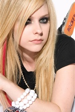 Preview iPhone wallpaper Avril Lavigne 30