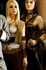 Preview iPhone wallpaper Beautiful girls in Pirates 2: Stagnettis Revenge