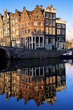 Preview iPhone wallpaper Famous buildings Netherlands