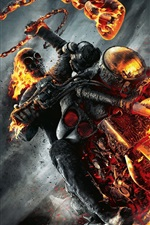 Preview iPhone wallpaper Ghost Rider