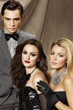 Preview iPhone wallpaper Gossip Girl