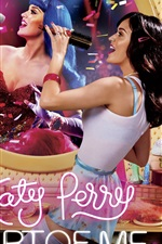 Preview iPhone wallpaper Katy Perry: Part of Me