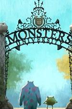 Vorschau des iPhone Hintergrundbilder Monsters Universität