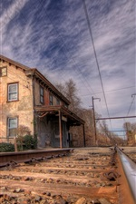 Preview iPhone wallpaper Norristown railroad