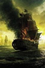 iPhone обои Пираты Карибского кино