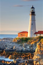 Preview iPhone wallpaper Portland Lighthouse