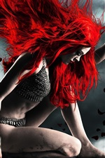 Preview iPhone wallpaper Red Sonja