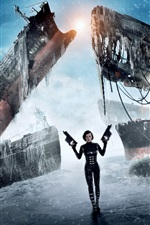 Preview iPhone wallpaper Resident Evil: Retribution movie HD