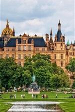 Vorschau des iPhone Hintergrundbilder Schweriner Schloss Deutschland