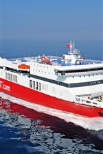 Preview iPhone wallpaper Superfast Ferries