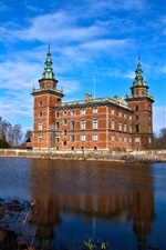 Preview iPhone wallpaper Sweden castle photography