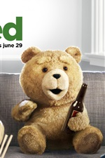 Preview iPhone wallpaper Ted 2012 movie