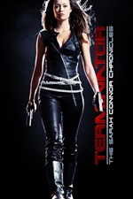 Preview iPhone wallpaper Terminator TV series, Summer Glau