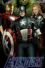 Preview iPhone wallpaper The Avengers 2012 movie HD