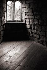 A fraca luz da casa