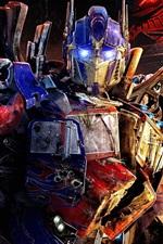 Vorschau des iPhone Hintergrundbilder Transformers Optimus Prime