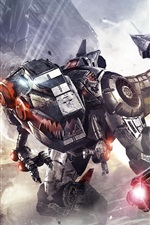 Preview iPhone wallpaper Transformers game HD