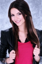 Preview iPhone wallpaper Victoria Justice 04