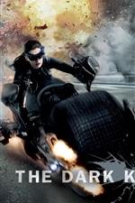 iPhone обои Энн Хэтэуэй в The Dark Knight поднимается