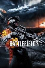 Preview iPhone wallpaper Battlefield 3 game HD