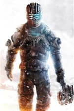 Preview iPhone wallpaper Dead Space 3 PC game