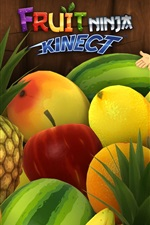 Preview iPhone wallpaper Fruit Ninja