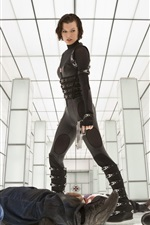 Preview iPhone wallpaper Milla Jovovich in Resident Evil: Retribution