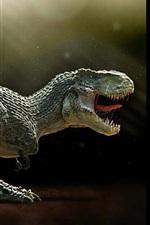 Preview iPhone wallpaper Paleontology, carnivorous dinosaur