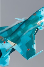 Preview iPhone wallpaper Su-34 Sukhoi bomber