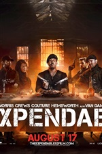 Preview iPhone wallpaper The Expendables 2 super poster