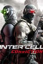 Preview iPhone wallpaper Tom Clancy Splinter Cell: Conviction