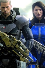 Preview iPhone wallpaper 2012 Mass Effect 3