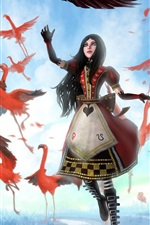 Preview iPhone wallpaper 2012 game Alice: Madness Returns