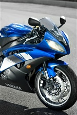 Preview iPhone wallpaper Cool Yamaha Motorcycle YZF-R6