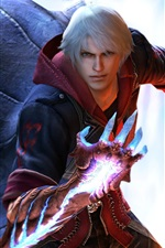 Preview iPhone wallpaper Devil May Cry 4 PC game
