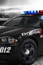 Preview iPhone wallpaper Dodge police car