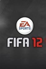 미리보기 iPhone 배경 화면 FIFA 12 EA 스포츠 게임