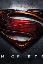 Vorschau des iPhone Hintergrundbilder Man of Steel