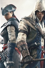 Preview iPhone wallpaper Assassin's Creed 3 PC game