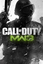 Preview iPhone wallpaper Call of Duty: MW3 hot game