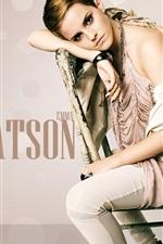 Preview iPhone wallpaper Emma Watson 15