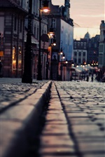 Preview iPhone wallpaper Night city street