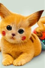 Preview iPhone wallpaper Pokemon cartoon Pikachu