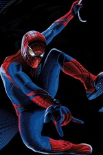 Preview iPhone wallpaper The Amazing Spider-Man, Superhero