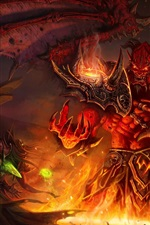 Preview iPhone wallpaper World of Warcraft: The Burning Crusade