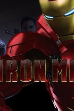 Preview iPhone wallpaper 2013 movie Iron Man 3